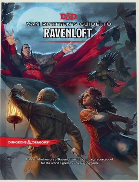 D&D: Van Richten's Guide to Ravenloft (HC)