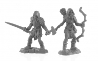 Reaper Bones Black: Rune Wight Hunters (2)