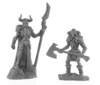 Reaper Bones Black: Rune Wight Thane and Jarl (2)