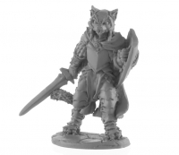 Dark Heaven Legends: Catfolk Paladin