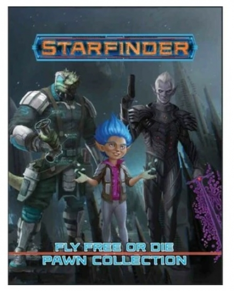 Starfinder RPG: Fly Free or Die Pawn Collection