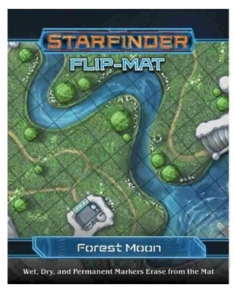 Starfinder RPG: Starfinder Flip-Mat - Forest Moon