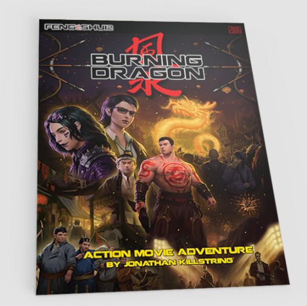 Feng Shui 2 RPG: Burning Dragon