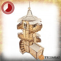 28mm Terrain: Savage Domain - Captain Bamboozle's Wizard Tower