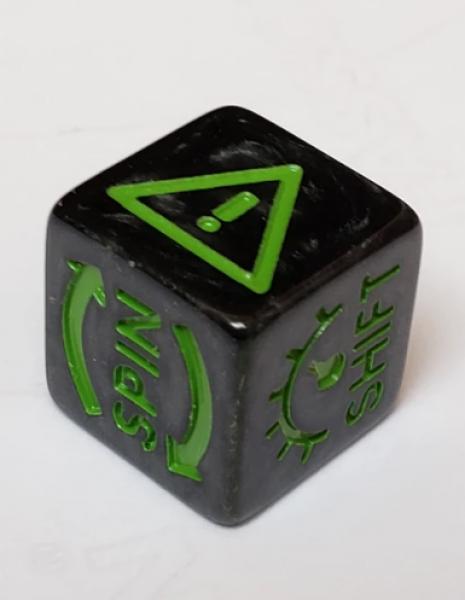 Gaslands: Skid Dice (5) (Green)