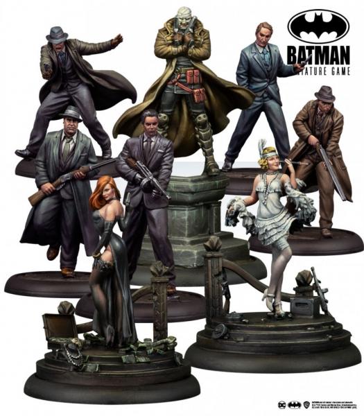 Batman Miniature Game: Two-Face Gang Bat Box Set