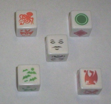 Monster Dice Set (5 Special Dice)