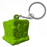 Creature Curation: RPG Squeeze Keychains - Gelatinous Cube (slow-rise foam)