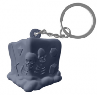 Creature Curation: RPG Squeeze Keychains - Legendary Black Ooze (slow-rise foam)