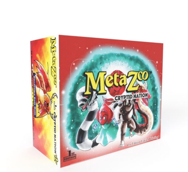 MetaZoo TCG: Cryptid Nation Booster Box Display (36 Packs)(First Edition)