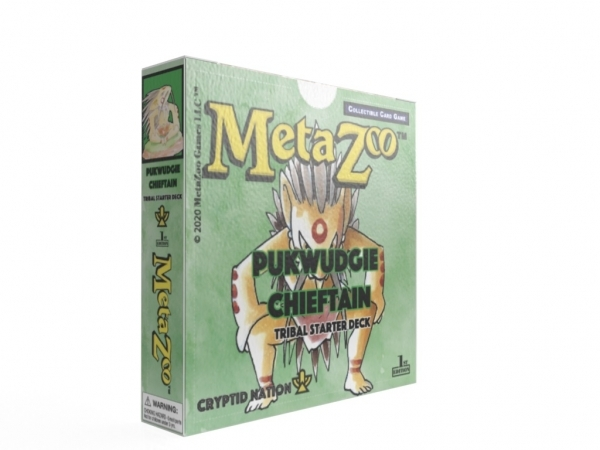MetaZoo TCG: Cryptid Nation Tribal Theme Deck - Forest (1) (First Edition)