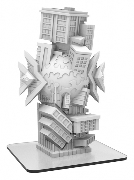 Monsterpocalypse: Myriad Singularity – Masters of the 8th Dimension Building (resin)