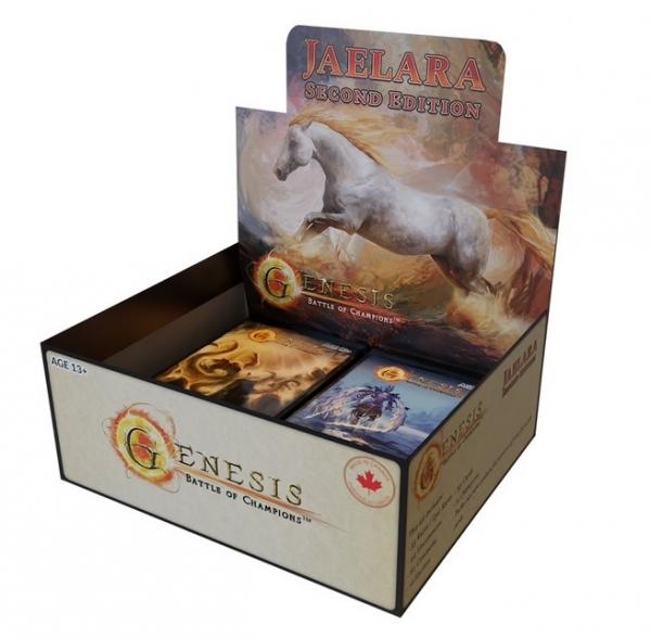 Genesis: Battle of Champions Jaelara Second Edition Display Box