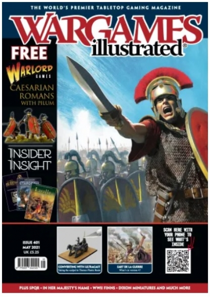 Wargames Illustrated Magazine #401 (May 2021)