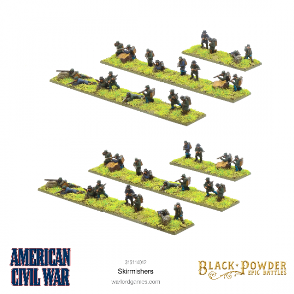 Black Powder: Epic Battles - American Civil War Skirmishers