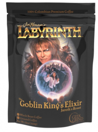 Geek Grind Coffee: Labyrinth Goblin King's Elixir - Jareth's Roast Whole Bean (Medium Roast)