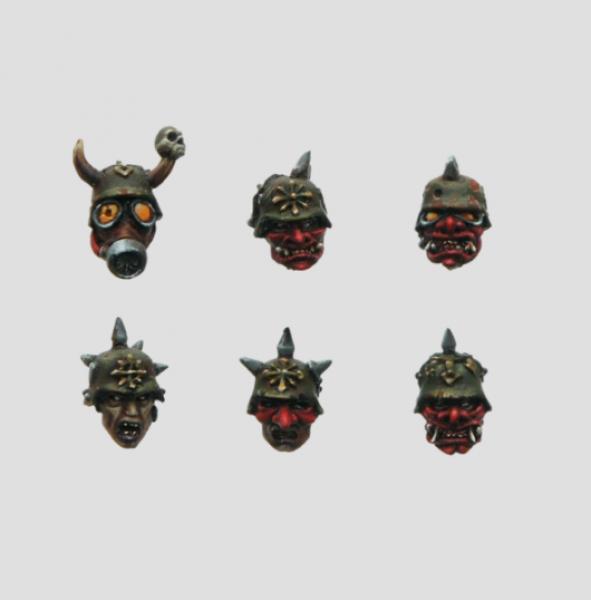 MaxMini: Fallen Legionnaire Heads (10)