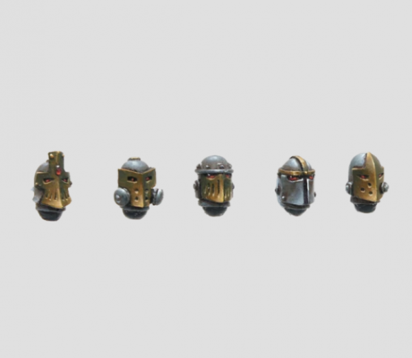MaxMini: Steam Knights Helmets (10)