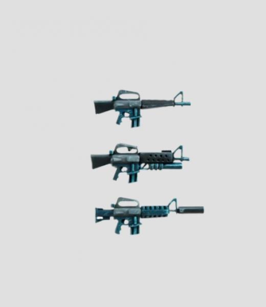MaxMini: M-guns (10)
