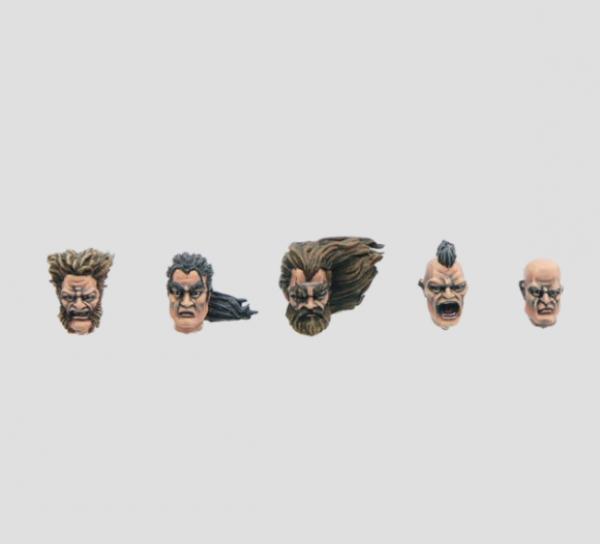 MaxMini: Feral Heads (10)