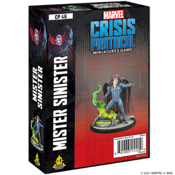 Marvel Crisis Protocol: Mister Sinister Character Pack