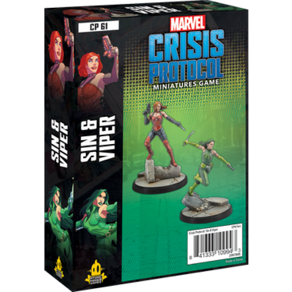 Marvel Crisis Protocol: Sin and Viper Character Pack