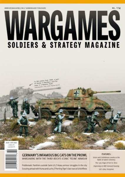 Wargames, Soldiers & Strategy Magazine: Issue #114