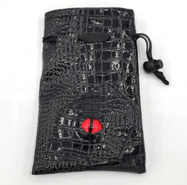 Dragon's Eye Dice Bag - Red Eye
