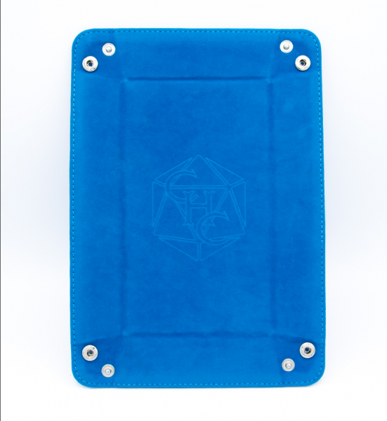 Rectangle Dice Tray - Blue