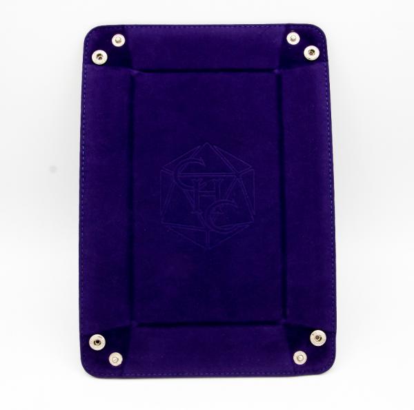 Rectangle Dice Tray - Dark Purple