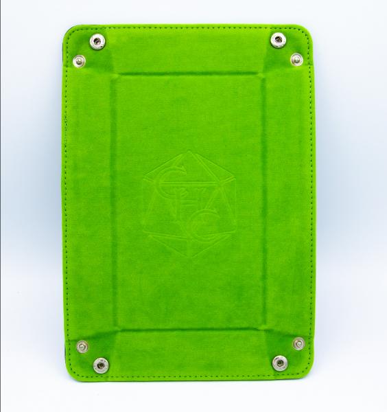 Rectangle Dice Tray - Light Green