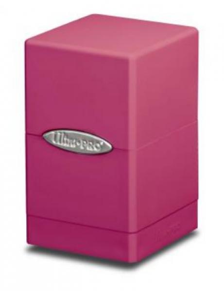 Ultra Pro: Satin Tower Deck Box - Hot Pink
