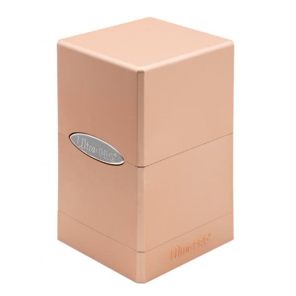 Ultra Pro: Satin Tower Deck Box - Metallic Rose Gold