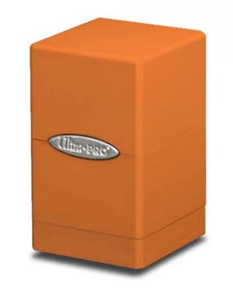 Ultra Pro: Satin Tower Deck Box - Pumpkin Orange