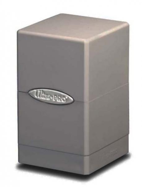 Ultra Pro: Satin Tower Deck Box - Smoke Grey