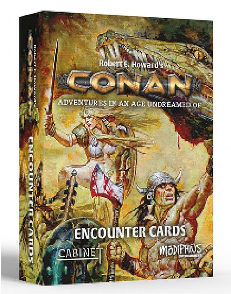 Conan RPG: Encounter Cards