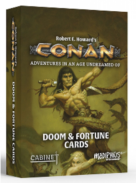 Conan RPG: Doom and Fortune Cards