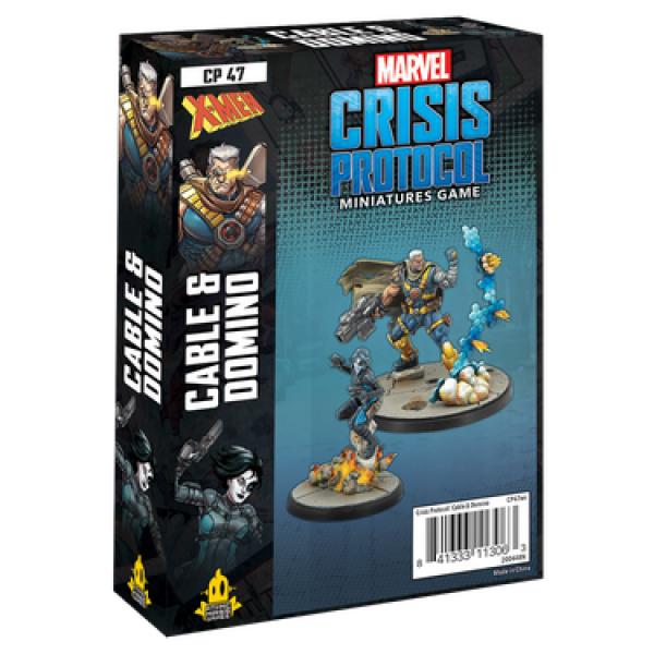 Marvel Crisis Protocol: Cable & Domino Character Pack