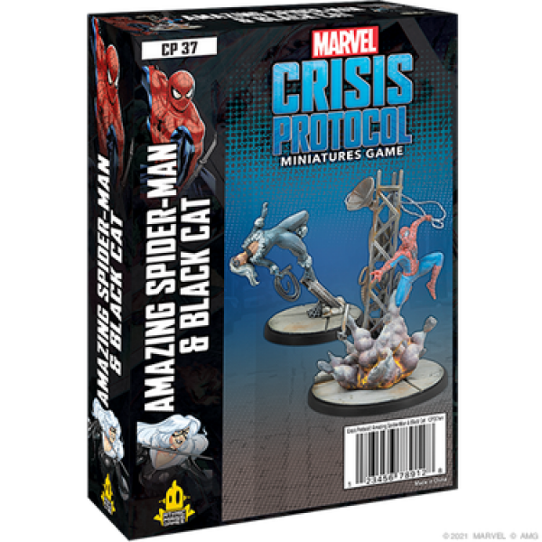 Marvel Crisis Protocol: Amazing Spider-Man and Black Cat Character Pack