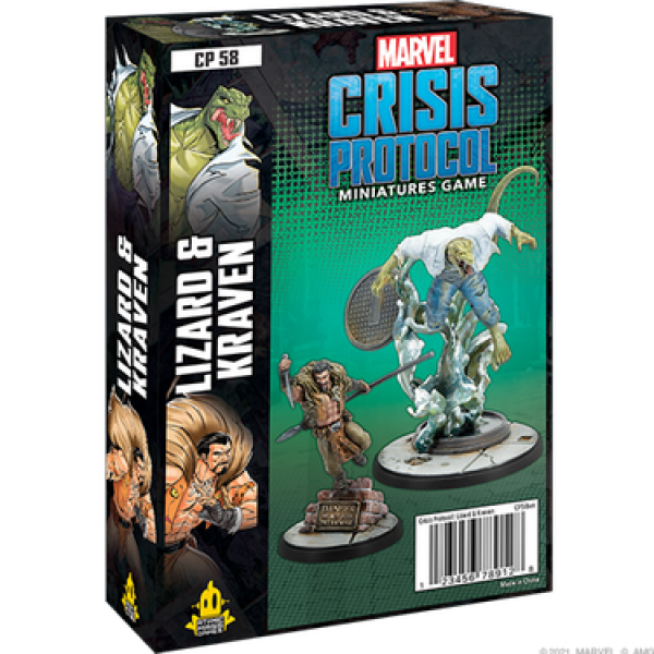 Marvel Crisis Protocol: Lizard and Kraven Character Pack