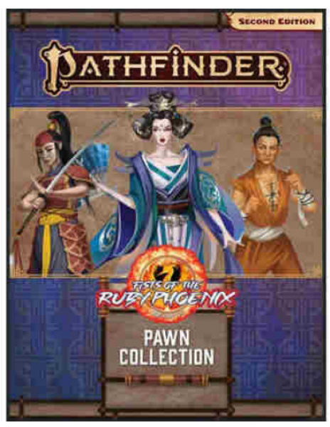 Pathfinder Pawns (P2): Fists of the Ruby Phoenix Pawn Collection
