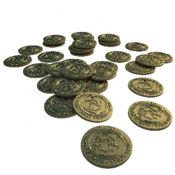 Magna Roma: Metal Coins Set