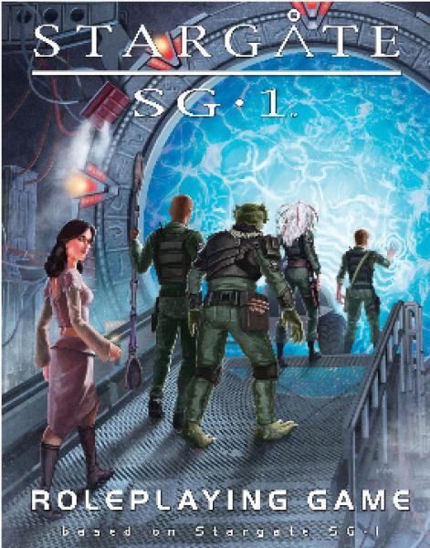Stargate SG-1 RPG: Core Rulebook
