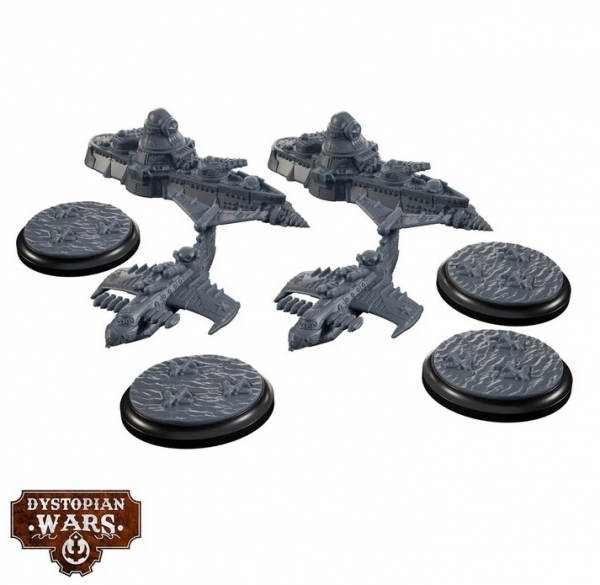 Dystopian Wars: Commonwealth Support Squadrons