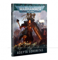 WH40K: Adepta Sororitas Codex (HC) (2021) [LIMITED/ALLOCATED]