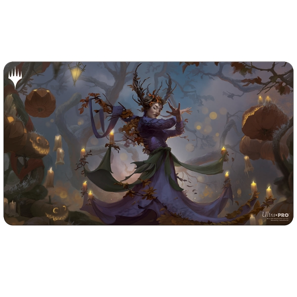 Magic The Gathering: Commander Innistrad Midnight Hunt Playmat - Leinore, Autumn Sovereign