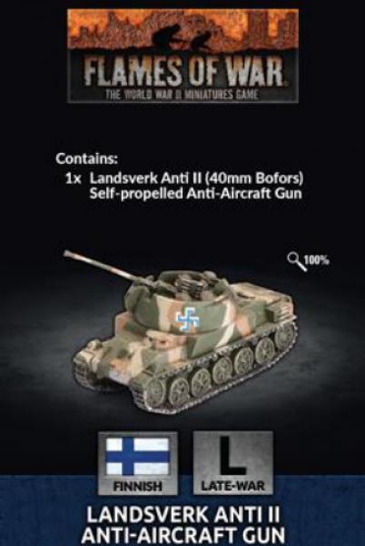 Flames Of War: Finnish Landsverk SP AA (x1)