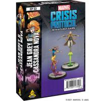Marvel Crisis Protocol: Jean Grey & Cassandra Nova Character Pack