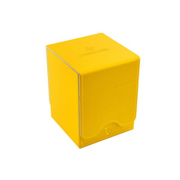 Gamegenic: Squire 100+ Card Convertible Deck Box - Yellow