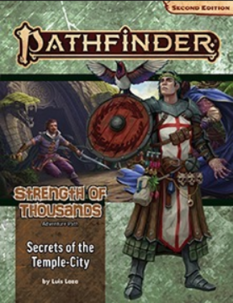Pathfinder (P2): Adventure Path - Secrets of the Temple-City (Strength of Thousands 4 of 6)